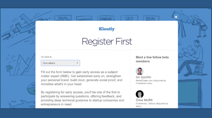 Kloutly Is a New Website Touting Vetted Expert Answers for Small Business Questions