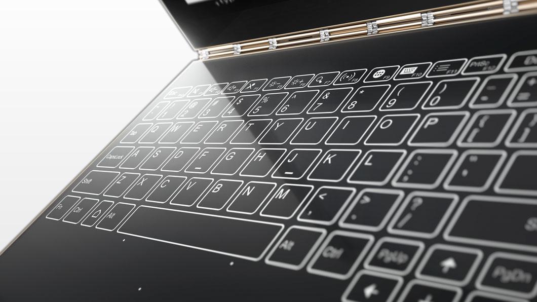 Lenovo Yoga Book Uses the Instant Halo Keyboard