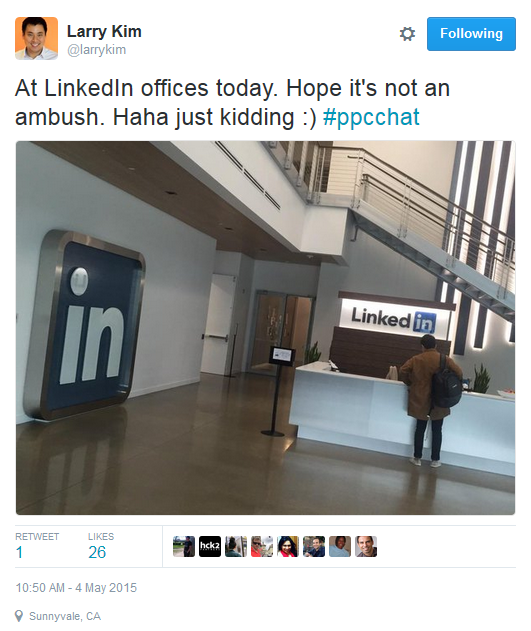 7 Regrettable Things About Advertising on LinkedIn: LinkedIn Office Visit