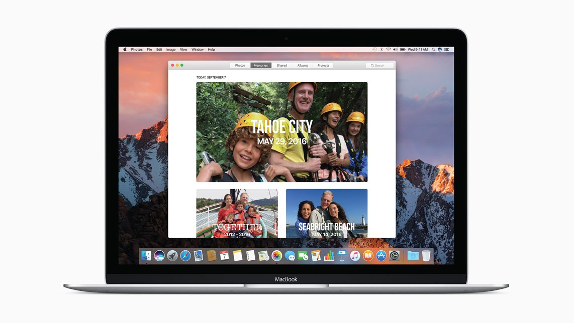MacOS Sierra - Photos