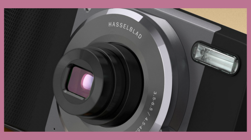 Better Business Photos in a Snap? Motorola Says Hasselblad True Zoom Module Offers 10x Optical Zoom