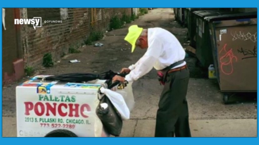 Two very important lessons about viral images and hard work can be learned from a single social media post and one man's rolling popsicle stand.