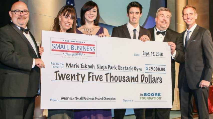 SCORE and Sam's Club Announce 2016 American Small Business Championship Winner