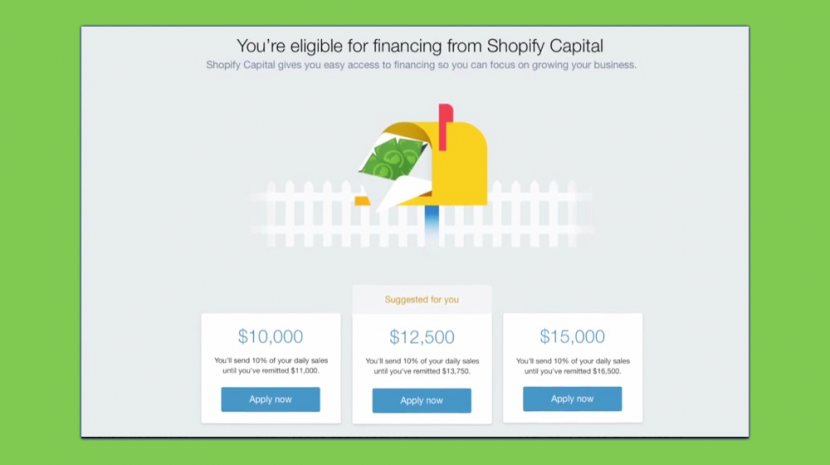 Shopify Capital Partners with Export Development Canada to Insure Merchant Cash Advances