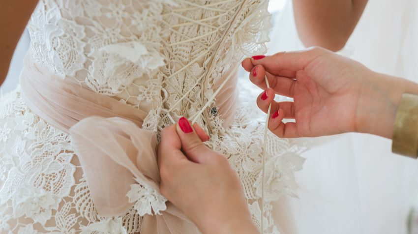 Faith Based Business Ideas - Wedding Dress Alterations