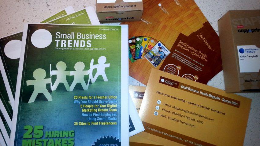 Staples Print & Marketing review