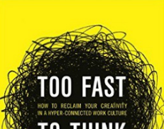 Too Fast to Think Means Too Slow to Create Well