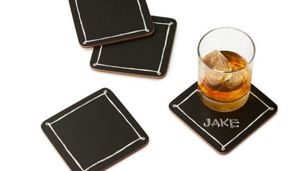 20 Best Business Gifts for Under 10 Dollars - Blackboard Coasters