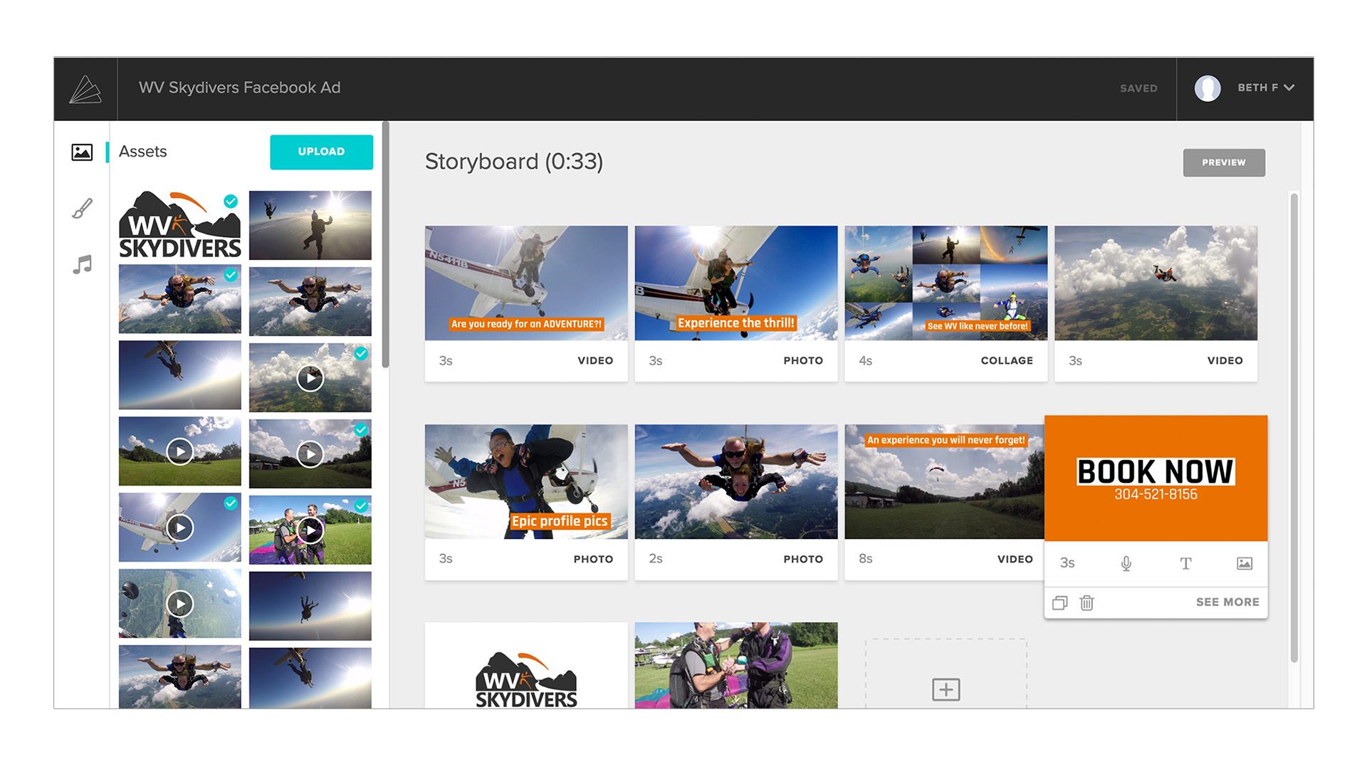 Animoto Marketing Video Builder - Collages and Layouts