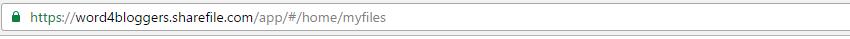 Citrix ShareFile - URL