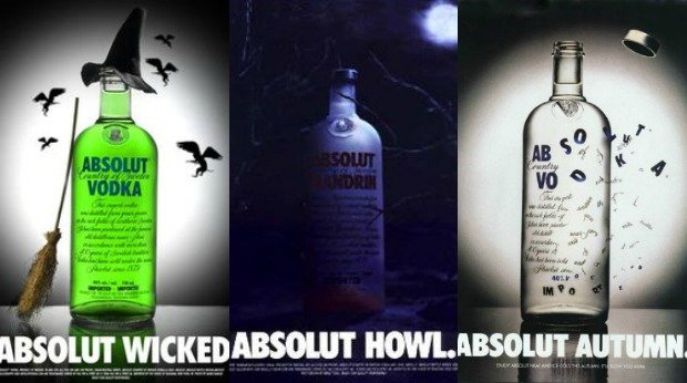20 Examples of Great Halloween Advertising Inspiration - Absolut - Halloween advertising - Halloween ads - advertising Halloween - Halloween advertising ideas - Halloween advertising campaigns