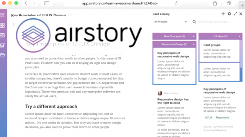 Airstory Writing Software Gets Your Team Collaborating on Content -- From Anywhere