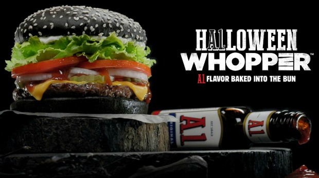 20 Examples of Great Halloween Advertising Inspiration - Burger King - Halloween advertising - Halloween ads - advertising Halloween - Halloween advertising ideas - Halloween advertising campaigns