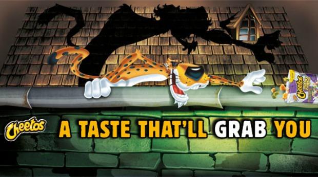20 Examples of Great Halloween Advertising Inspiration - Cheetos - Halloween advertising - Halloween ads - advertising Halloween - Halloween advertising ideas - Halloween advertising campaigns