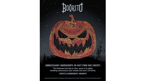 20 Examples of Great Halloween Advertising Inspiration - Chipotle - Halloween advertising - Halloween ads - advertising Halloween - Halloween advertising ideas - Halloween advertising campaigns
