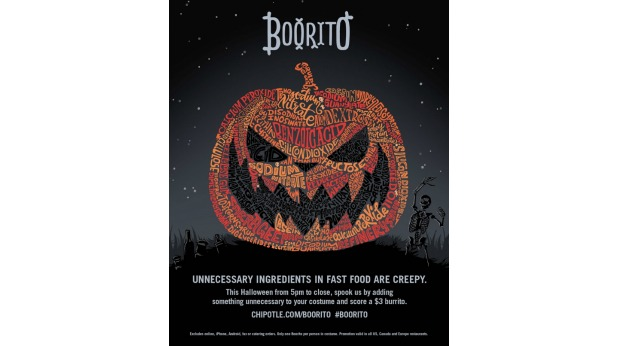 20 Examples of Great Halloween Advertising Inspiration - Chipotle
