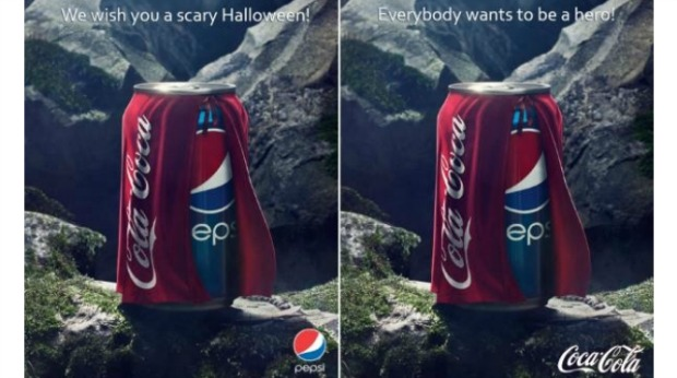 20 Examples of Great Halloween Advertising Inspiration - Pepsi/Coca-Cola - Halloween advertising - Halloween ads - advertising Halloween - Halloween advertising ideas - Halloween advertising campaigns