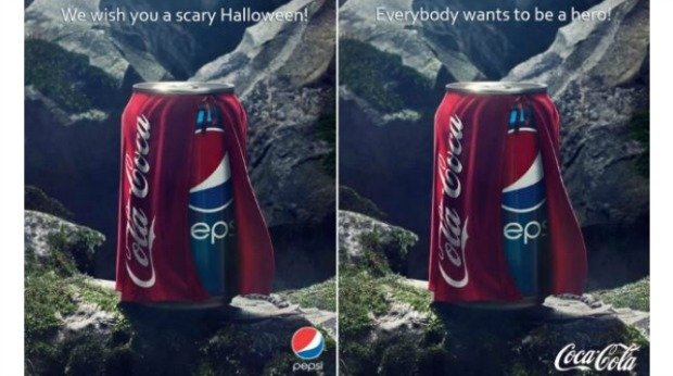 20 Examples of Great Halloween Advertising Inspiration - Pepsi/Coca-Cola