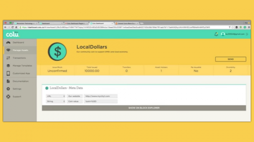 Colu Creating Local, Digital Currencies