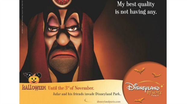 20 Examples of Great Halloween Advertising Inspiration - Disneyland - Halloween advertising - Halloween ads - advertising Halloween - Halloween advertising ideas - Halloween advertising campaigns