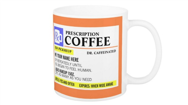 Holiday Gift Ideas for Employees - Personalized Mug