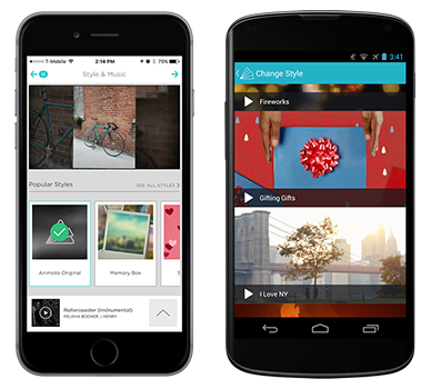 Animoto Marketing Video Builder - Mobile Apps