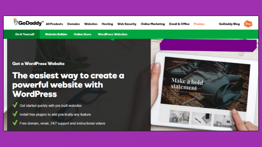 GoDaddy, Google, Wix Announce New Tools for Business Websites