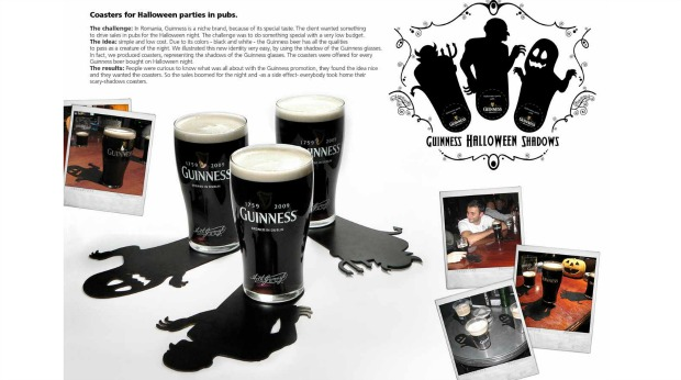 20 Examples of Great Halloween Advertising Inspiration - Guinness