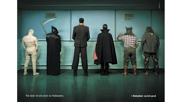 20 Examples of Great Halloween Advertising Inspiration - Heineken - Halloween advertising - Halloween ads - advertising Halloween - Halloween advertising ideas - Halloween advertising campaigns
