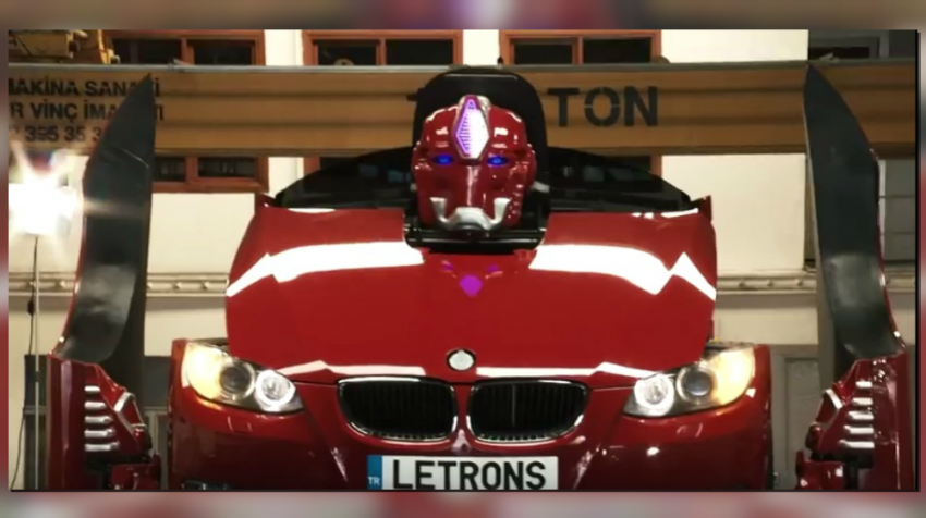 This Sports Car Is A Real Life BMW Transformer
