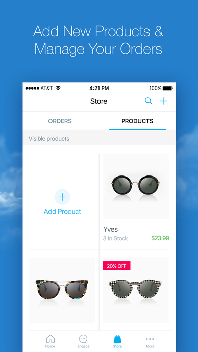 Wix Mobile App - Manage Your Store