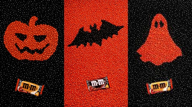 20 Examples of Great Halloween Advertising Inspiration - M&M's - Halloween advertising - Halloween ads - advertising Halloween - Halloween advertising ideas - Halloween advertising campaigns