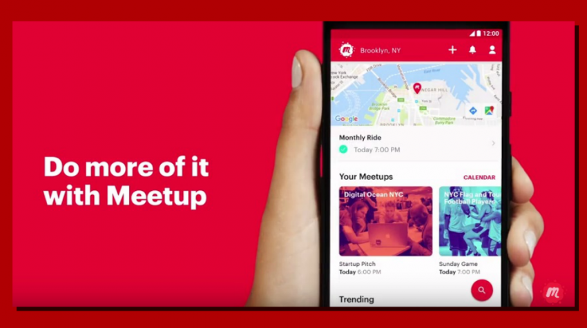 Meetup Redesign: Site Still Used By Many Business Groups Gets New App, More