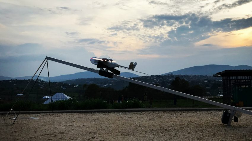 Rwandan Drone Delivery Service First of Its Kind