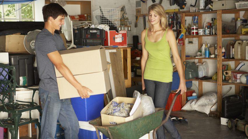 50 Business Ideas for Teens - Garage Sale Organizer