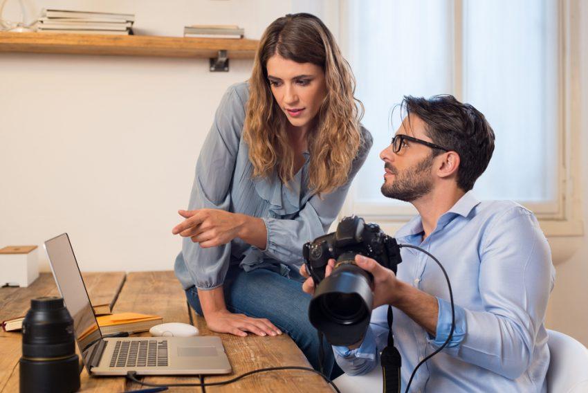 50 Online Business Ideas - Stock Photographer