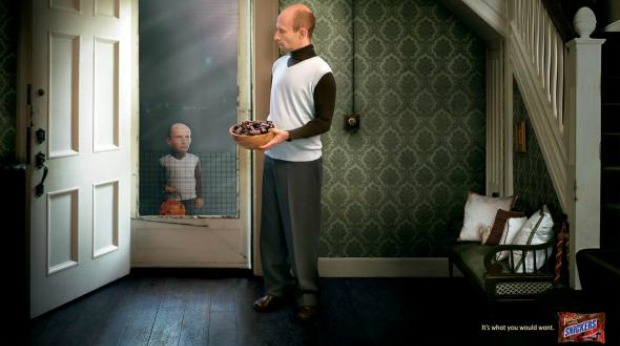 20 Examples of Great Halloween Advertising Inspiration - Snickers - Halloween advertising - Halloween ads - advertising Halloween - Halloween advertising ideas - Halloween advertising campaigns