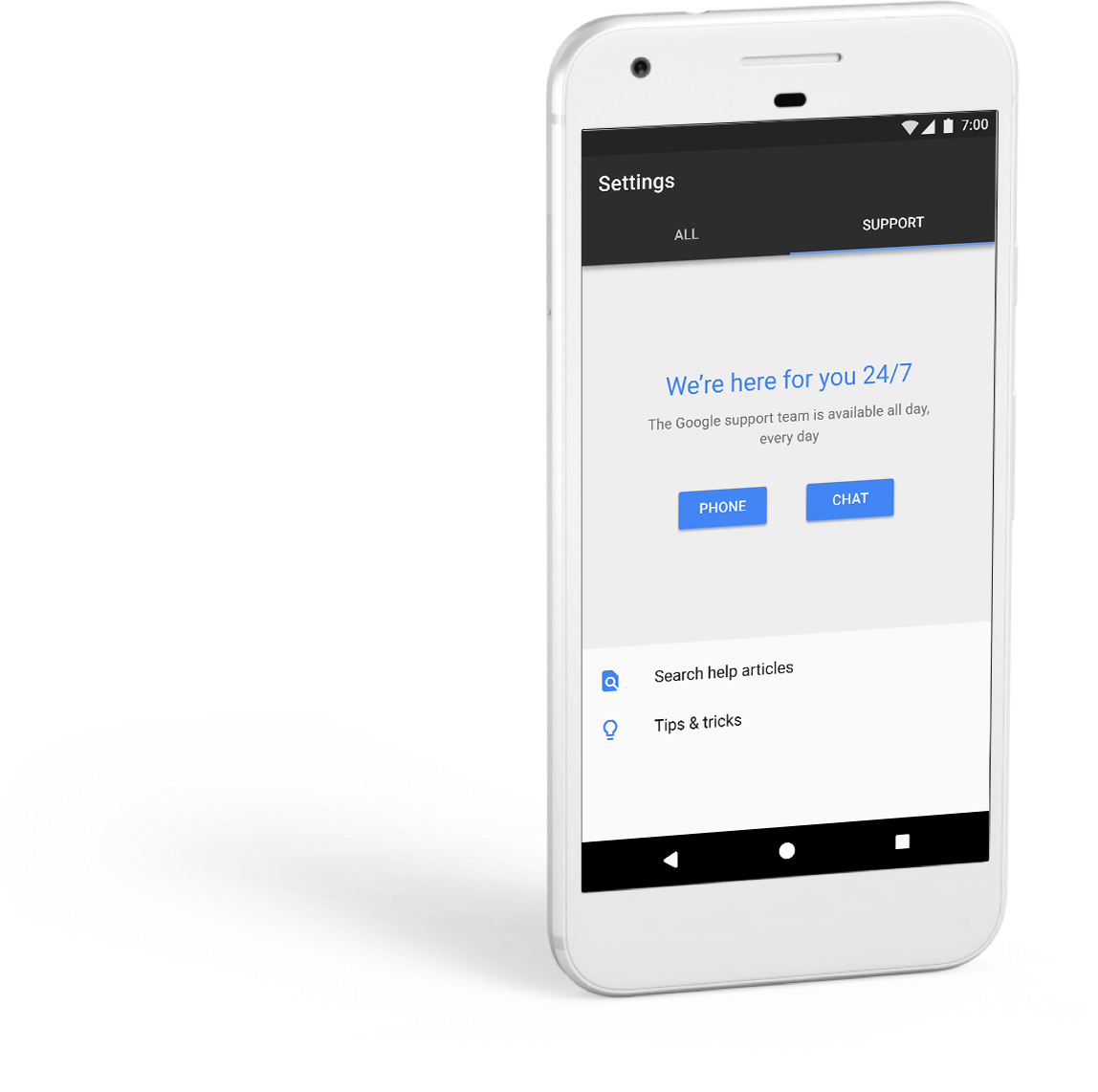 What Does the New Google Pixel Phone Line Offer Small Business Users? 24/7 Support
