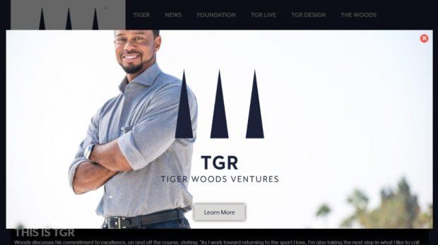 TGR VEntures - Tiger Woods Brand