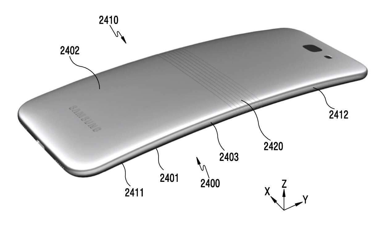 Samsung Developing a Bendable Smartphone?