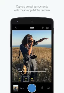 10 Android Camera Apps You Need Besides Instagram - Adobe Photoshop Lightroom
