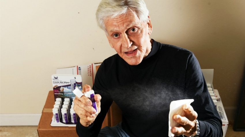 In an example of finding opportunity in a market, Angelo Chetta is the entrepreneur behind the new Milavo portable bidet, a personal hygiene spritzer.