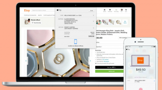 Etsy sellers have been able to offer Apple pay via the craft giant's mobile app, but now Etsy Apple Pay for the web is available as an option as well.