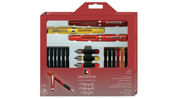Food and Craft Gift Ideas for the Holidays - Calligraphy Set