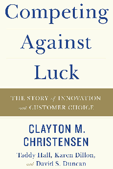 Best Management Books for 2017 - Competing Against Luck