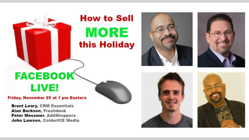 Sell more online - Facebook live event