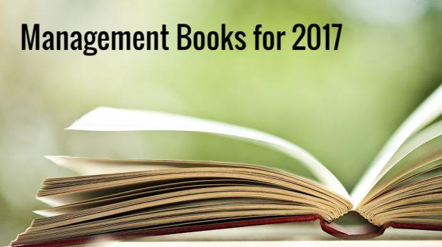 Best Management Books for 2017