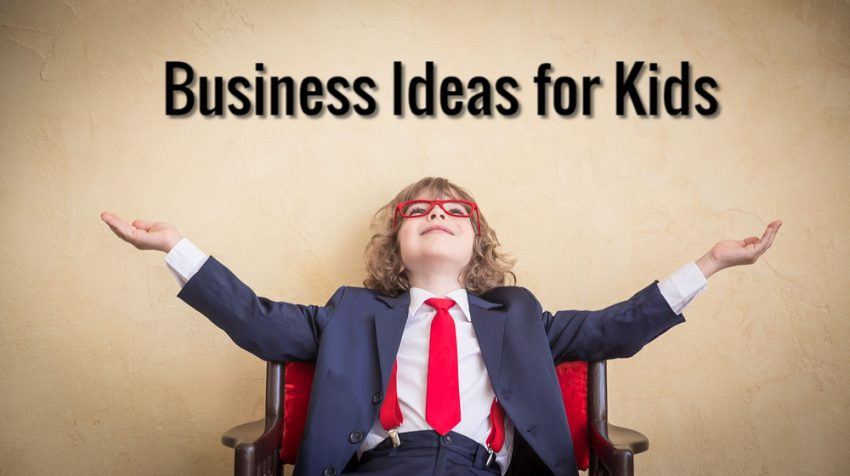 50 small business ideas for kids small business trends 50 small business ideas for kids reheart Choice Image