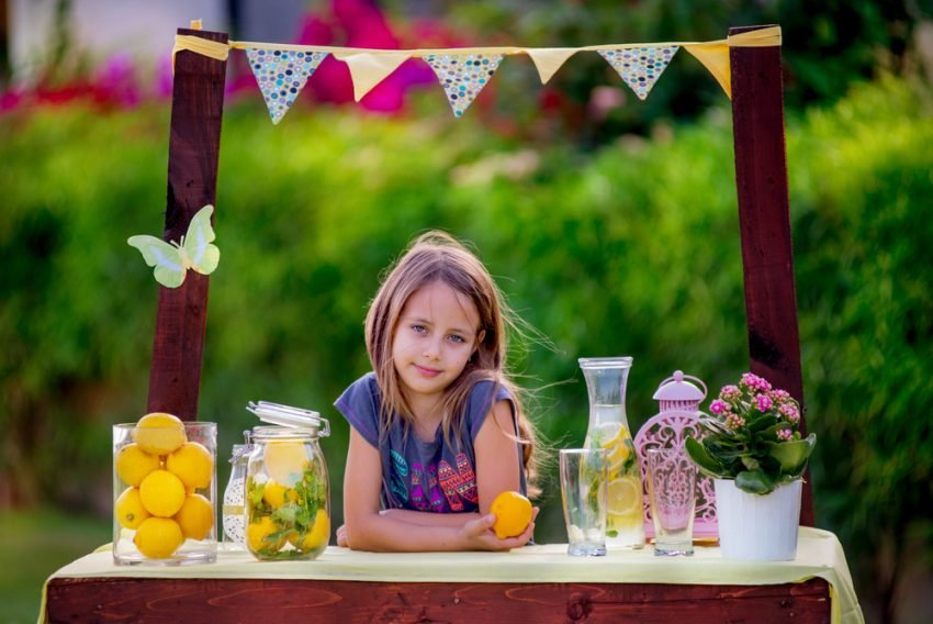 50 Small Business Ideas for Kids - Lemonade Seller