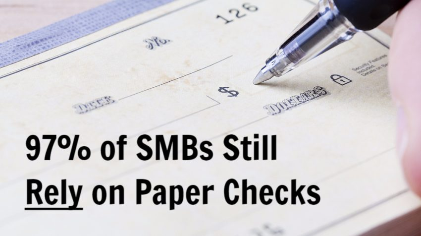 Why Do So Many Small Businesses Still Use Checks?